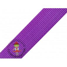 Gurtband Lila 30 mm