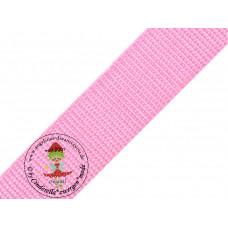 Gurtband Rosa 30 mm