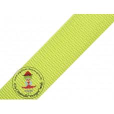 Gurtband Lime 30 mm