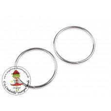 O-Ring, Metallring Ø30 mm, 2 Stück