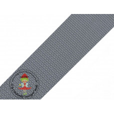 Gurtband Grau 40 mm