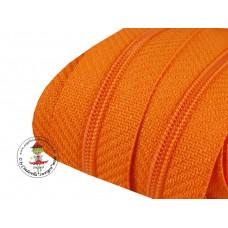 Reißverschluss*Orange*Meterware