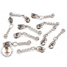 Reißverschluss*Zipper*Silber