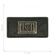Label * Casual * schwarz