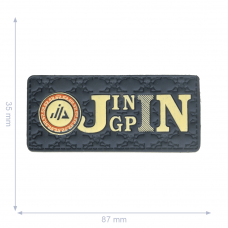 Label * Jingpin * blau