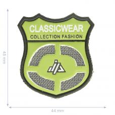 Label * Wappen Classic  Wear * grün