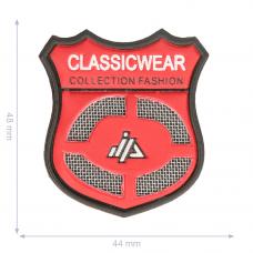 Label * Wappen Classic  Wear * rot