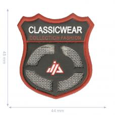 Label * Wappen Classic  Wear * schwarz