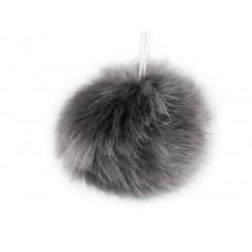 Fellbommel graublau Ø 9cm