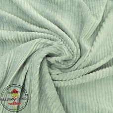 Baumwoll ♥ Cord Jersey ♥ UNI ♥ Altgrün