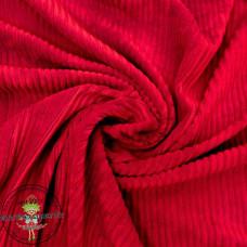 Baumwoll ♥ Cord Jersey ♥ UNI ♥ Rot