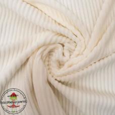 Baumwoll ♥ Cord Jersey ♥ UNI ♥ Naturweiß
