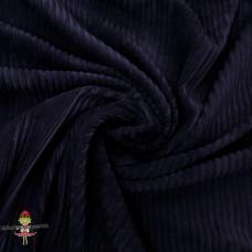 Baumwoll ♥ Cord Jersey ♥ UNI ♥ Navy