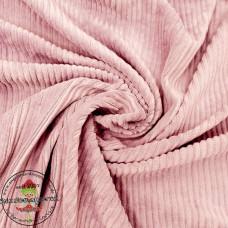 Baumwoll ♥ Cord Jersey ♥ UNI ♥ Nude Rose