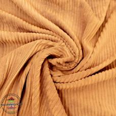 Baumwoll ♥ Cord Jersey ♥ UNI ♥ Senf